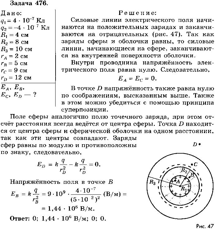 физика задачник 10 11 класс гдз парфентьева